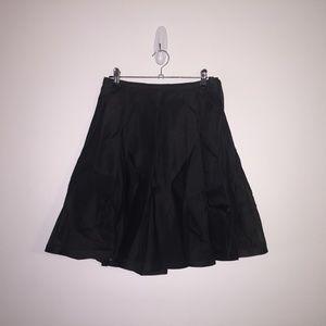 Gianni Versace Sheer Black Mini Skirt IT40